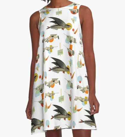 FLY FISH FLY A-Line Dress