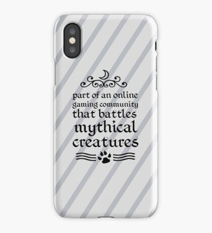 Mythical Creatures iPhone Case/Skin