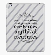 Mythical Creatures iPad Case/Skin