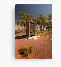 Outback Dunny Canvas Print