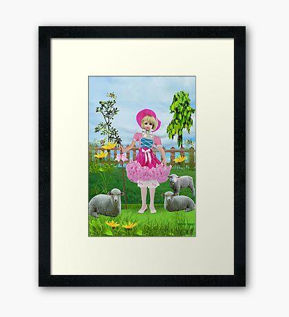 Little Bo Peep (392 views) Framed Print