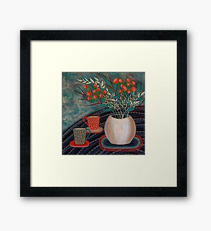 'Tea for Two' Framed Print