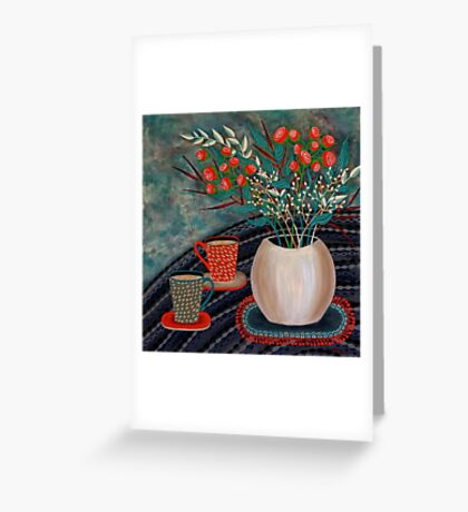 'Tea for Two' Greeting Card