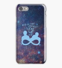 I Swear We Were Infinite III iPhone Case/Skin