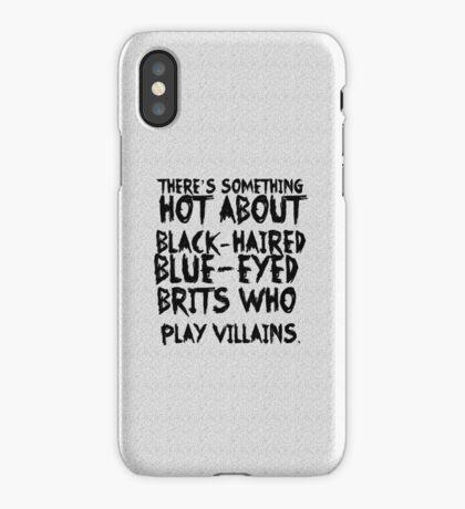 British Villains iPhone Case/Skin