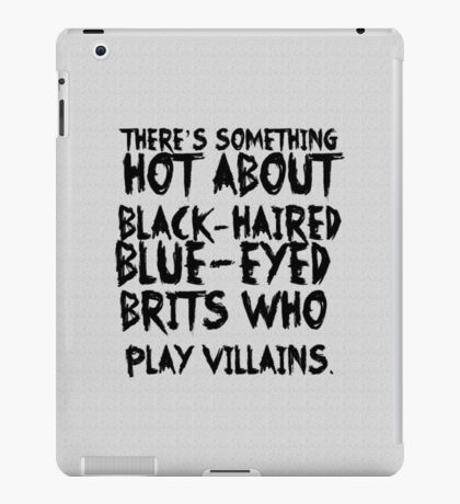 British Villains iPad Case/Skin