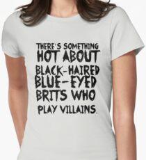 British Villains Womens Fitted T-Shirt