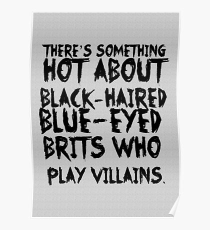 British Villains Poster