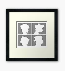 gorillaz Framed Print