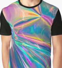 holographic Graphic T-Shirt