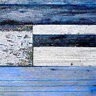 Timber Blues I by Kathie Nichols