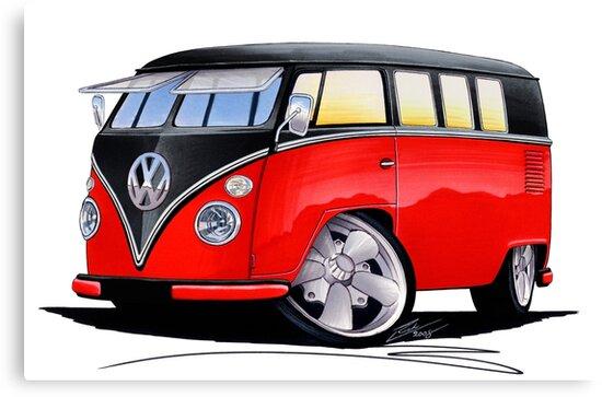 VW Splitty (11 Window) Camper (E) by Richard Yeomans