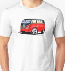 VW Splitty (11 Window) Camper (E) Unisex T-Shirt