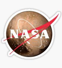 NASA Pluto Meatball Sticker