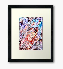 new nebula Framed Print