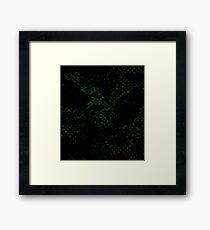 Slytherin Skin Framed Print