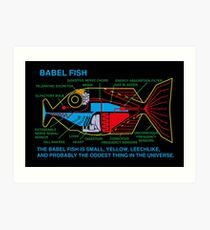 NDVH Babel Fish Art Print