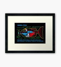 NDVH Babel Fish Framed Print