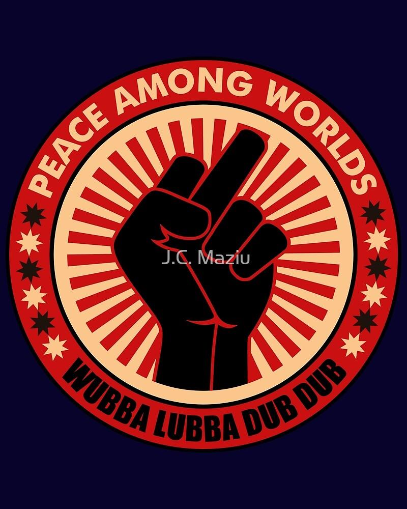 Peace among worlds. by J.C. Maziu