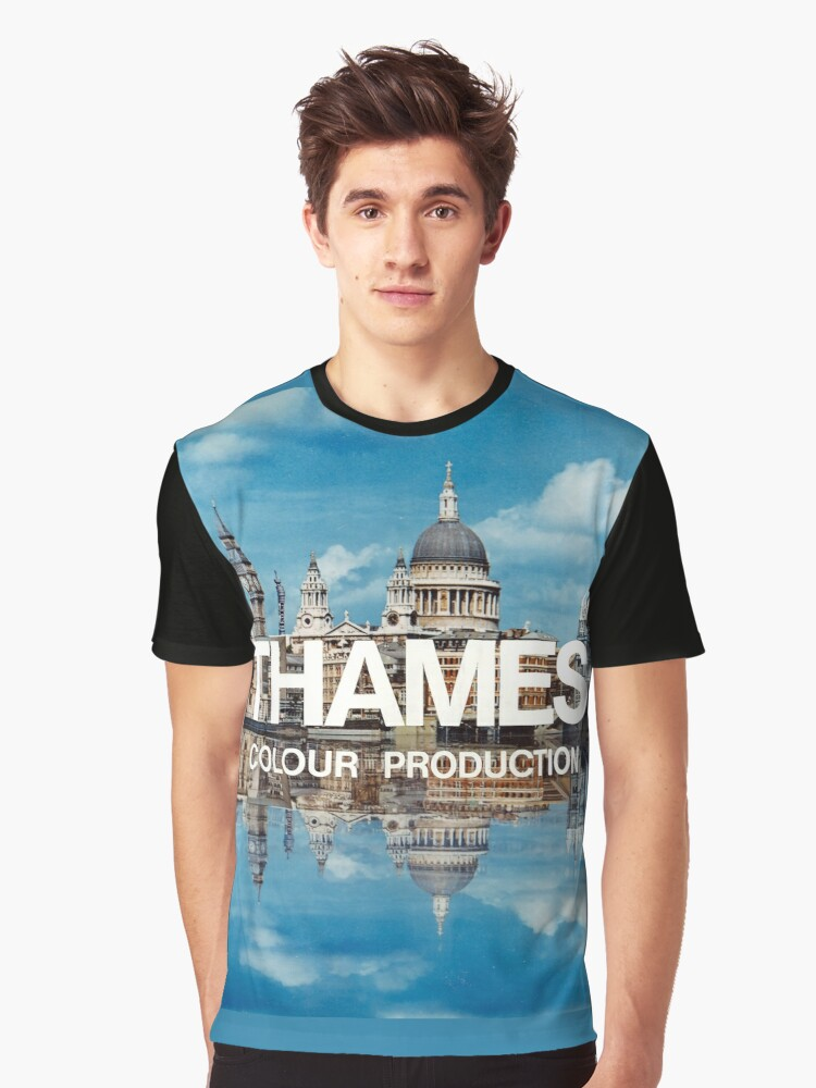 NDVH Thames Graphic T-Shirt Front