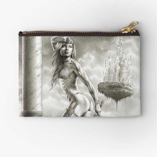 RISE OF THE AMAZONS Zipper Pouch
