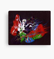 Heavy acrylic abstract (Eternity) Canvas Print