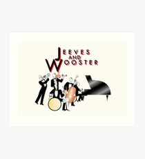 NDVH Jeeves and Wooster Art Print