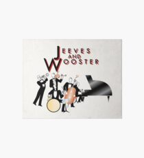NDVH Jeeves and Wooster Art Board