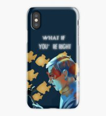 What If (without background) iPhone Case/Skin
