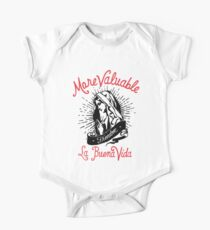 Our Lady of Guadalupe, Virgin Mary Short Sleeve Baby One-Piece