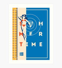 Hello Summer poster Art Print