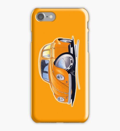 VW Beetle Orange iPhone Case/Skin