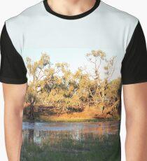 Early morning Camooweal Billabong Queensland Graphic T-Shirt