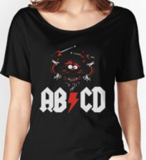 Animal Drummer - ACDC Women's Relaxed Fit T-Shirt