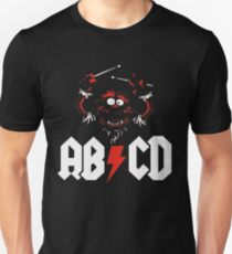 Camiseta unisex Animal Drummer - ACDC