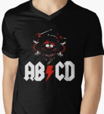 Animal Drummer - ACDC Men's V-Neck T-Shirt