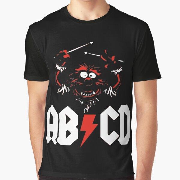 Animal Drummer - ACDC Graphic T-Shirt