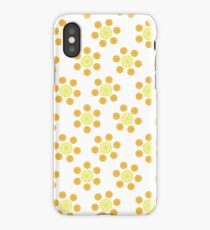 Citrus Table and Chairs iPhone Case/Skin