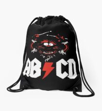 Animal Drummer - ACDC Drawstring Bag