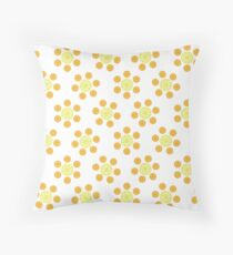 Citrus Table and Chairs Throw Pillow