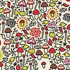 Mushrooms by Ekaterina Panova