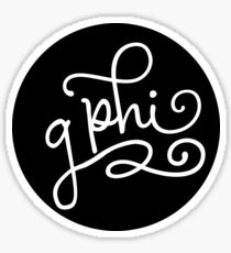 contrast - gphi Sticker