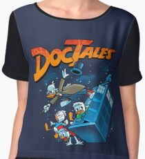 DocTales Parody Design Chiffon Top