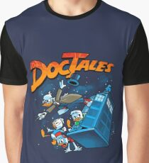DocTales Parody Design Graphic T-Shirt