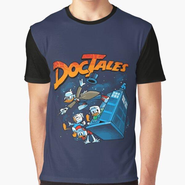 DocTales Parody Design Graphic T-Shirt