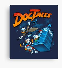DocTales Parody Design Canvas Print