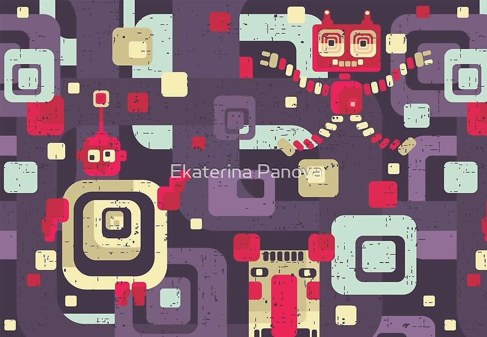 Geometric robots by Ekaterina Panova