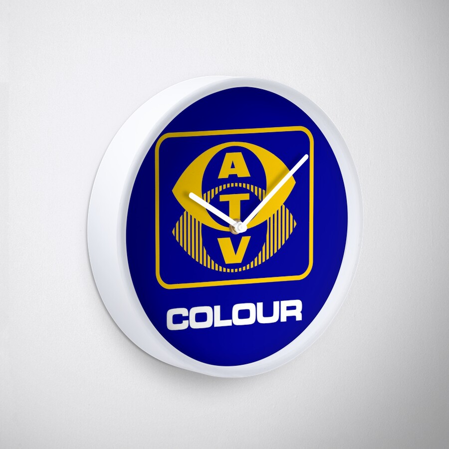 ATV Colour Wall Clock