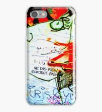 Iris et Yvette iPhone Case/Skin
