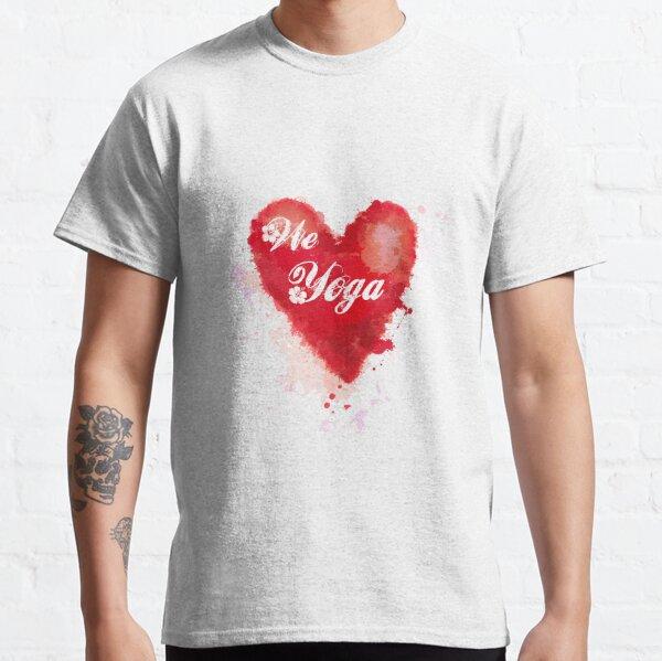 We love Yoga Camiseta clásica